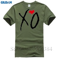 f3fe3da8c218f New Funny Xo Heart Drake Printing Hip Hop Tops Short Sleeve T Shirt Male  Fashion Summer