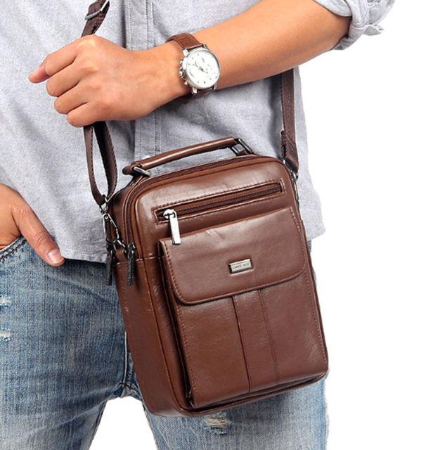 Homens bolsa de Transporte saco do Mensageiro Do Couro Genuíno bolsa de Negócios de moda Bolsa de Couro Bolsas