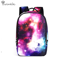 Multicolor Women Canvas printing Backpack Galaxy Star vintage Backpack Girls School bags for teenagers mochila men backpack