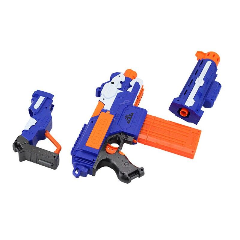 Eva2king électrique balle molle jouet pistolet pour nerf tir mitraillette arme balle molle éclate pistolet drôle en plein air jouets pour enfant - 4
