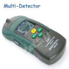 6 шт./лот мульти-детектор для обнаружения металла инструменты для труб для украшения на батарейках MS6906
