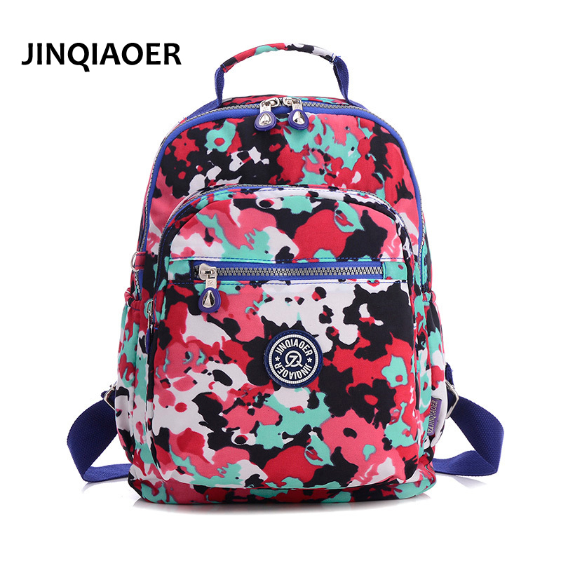 Women Back Bag High Quality Mochila New 2017 Women's Backpack for Teenage Girls Waterproof Nylon Preppy Style School Bags new 2017 women printing backpack preppy style fashion school bag for teenager color casual nylon bag hot high quality ladies bag