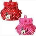 Lindo animal de la Historieta niños mochila Minnie Mouse Niñas Bolso de Escuela de Los Niños Mochilas mochila kindergarten Bebé regalos