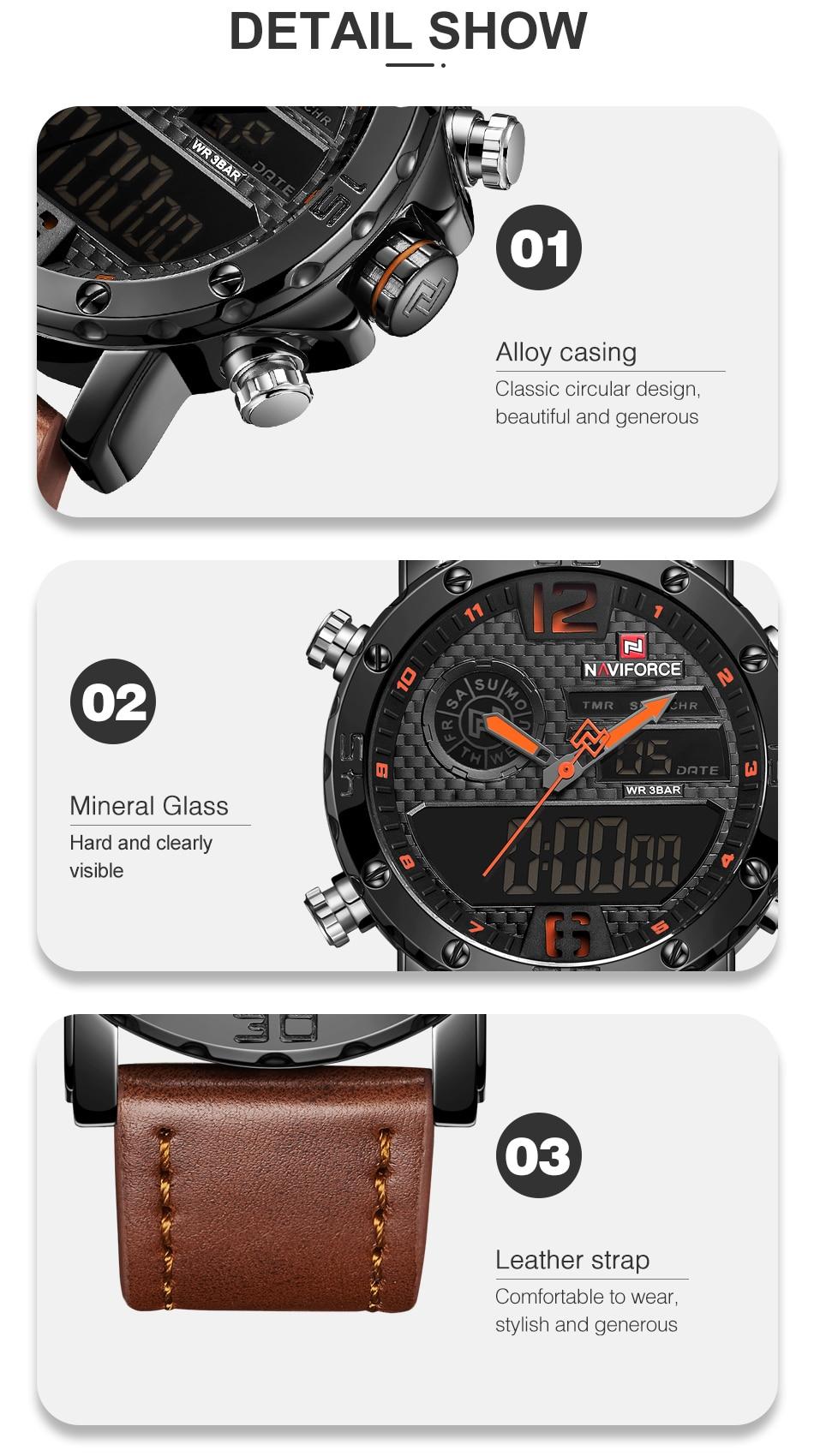 Spencerslimo.com cuero Relojes hombre 9