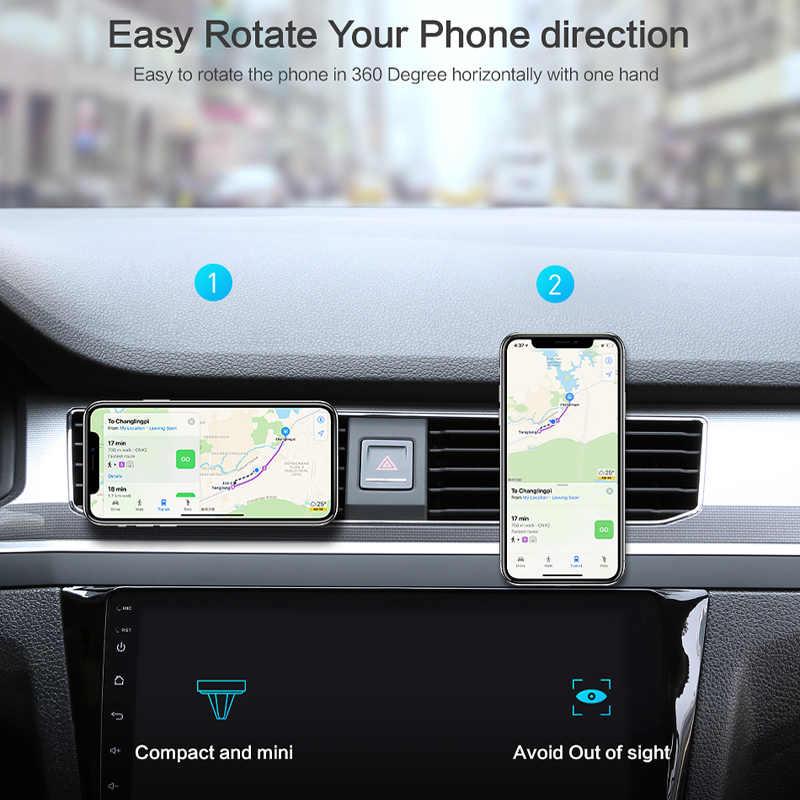 ユニバーサル車の空気ベント磁気携帯電話ホルダーメルセデス W203 BMW E39 E90 F30 F10 ボルボ XC60 S40 アウディ a4 A6 アクセサリー