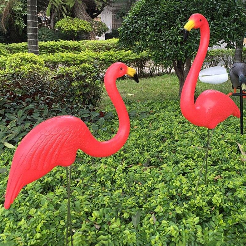 Pink Flamingos Garden Ornaments