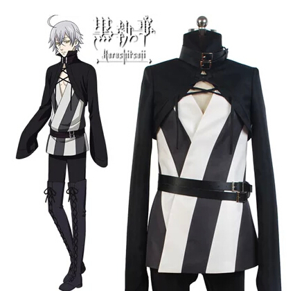 Free Shipping! Black Butler Snake High Quality Uniforms Cosplay Costume ,Perfect Custom For you!