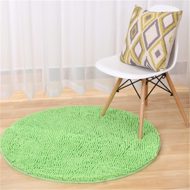 Magnificent Mega Discount Chenille Thick Round Carpet Computer Chair Machost Co Dining Chair Design Ideas Machostcouk