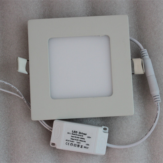 square led ceiling panels  6w led panel white/warm white 3 color temperature ajustable 40% off