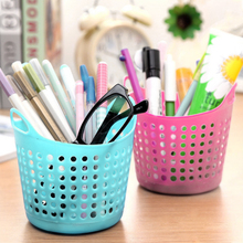 1PCS Home Office Desktop Storage Box Sundries Organizer Stationery Cosmetic Basket Container Case