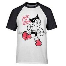 dab17216 Astro Boy Target Mens brand t Shirt raglan cotton male top tees summer  fashion gift for