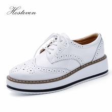 Hosteven buty damskie mokasyny dorywczo prawdziwej skóry dziura buty mokasyny damskie buty kobieta kobieta mieszkania matka obuwie