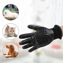 Pet Dog Grooming Glove Dog Cat Hair removal Brush Deshedding Comb Bathe Massage Glove for Animal Pet Cleaning Supplies product