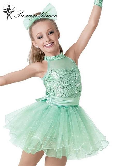 fa3ae92b7b25 Adult girl sequin Jazz Dance Costume tutu