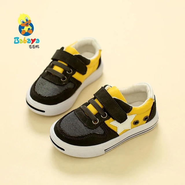 2016 Autumn brand designer sport net flock ptachwork casual soft boy girl toddle tenis sneakers baby infantil first Walker shoes