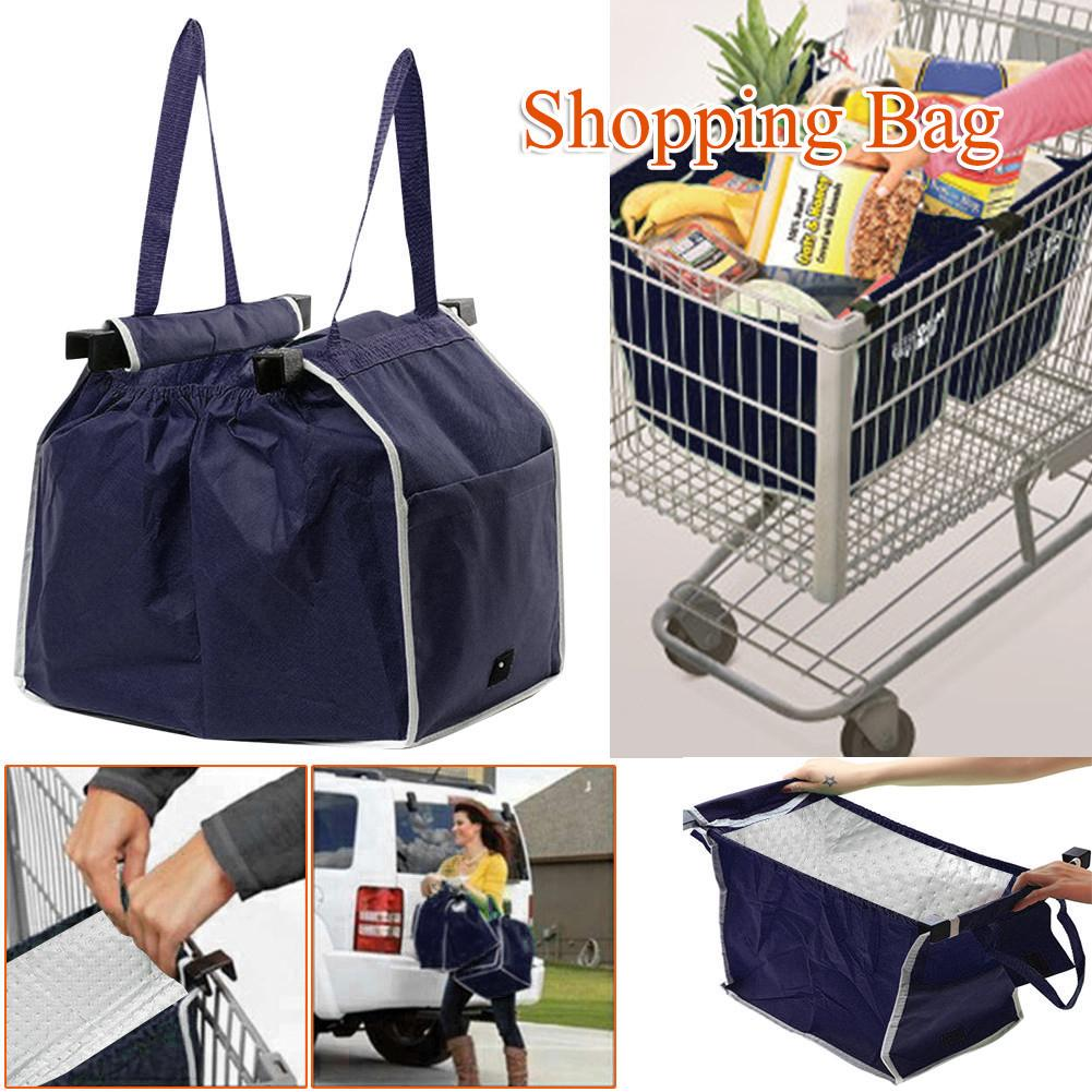 Portable Outdoor Travel Collapsible Eco Bag Supermarket Bags Multifunctional Collapsible Thermal Storage Bag ...