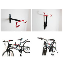 New Cycling Bike Storage Garage Wall Mount Rack Hanger Bicycle Steel Hook Holder Secure And Durable Protect Scratches Features(China)