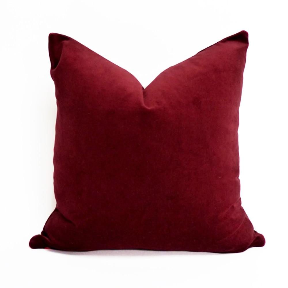 Popular Red Velvet Cushion-Buy Cheap Red Velvet Cushion lots from ...