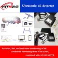Quelle Fabrik 3g/4g/MDVR Ultraschall Fluss Sensor Semi-Anhänger Tanker Schnelle und Genaue Öl ebene Messung