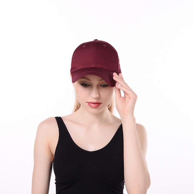 c69c619dce8 2018 Dad Hat Ponytail Snapback Baseball Cap Messy Bun Caps For Women Female  Summer Trucker Hat