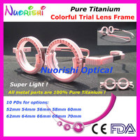Xd12 détail pur titane Super léger très confortable coloré fixe PD haute classique optométrie de première instance objectif cadre livraison gratuite