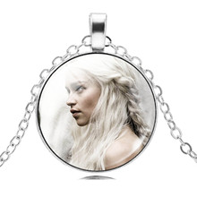 Game of Thrones Necklace Women Glass Cabochon Necklace & Pendant