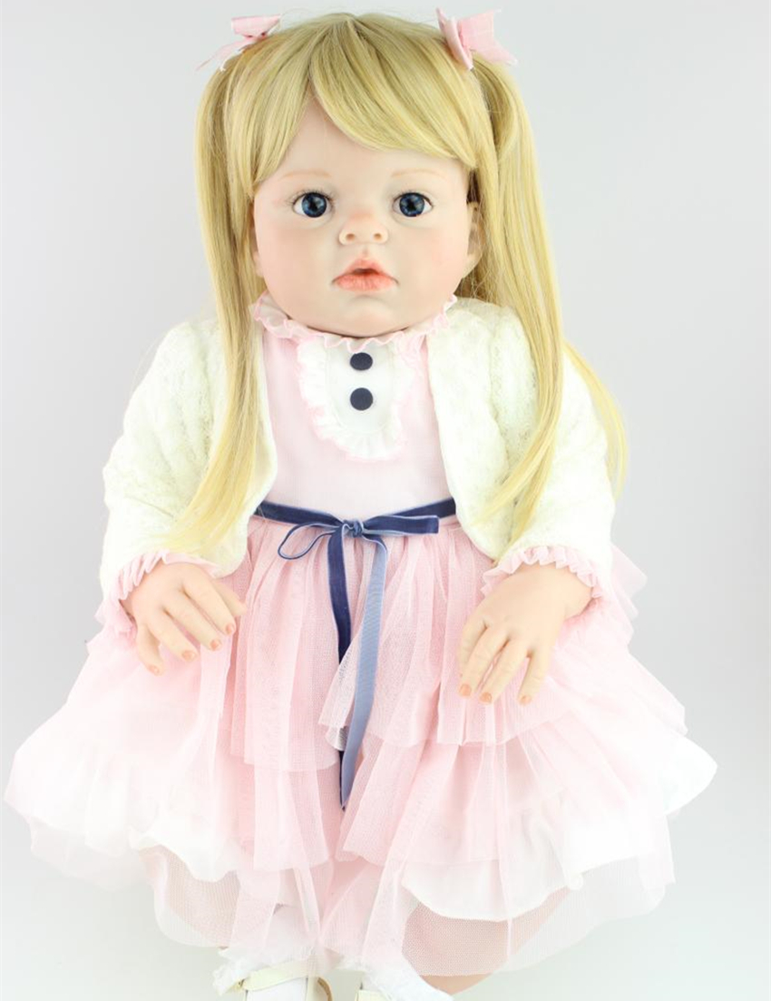 ФОТО 28 inch big toddler reborn arianna dolls for kids high quality collection doll artists