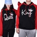 Fashion Men Womens' Hoodies couples' streetwear Long Sleeve Black red Letter Print hooded sweatshirts Lovers Hoodies svitshot