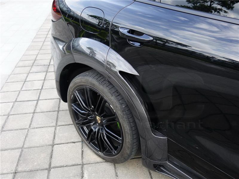 2011-2014 Porsche Cayenne 958 Hamann Style Wide Aero Body Kit CF (36)