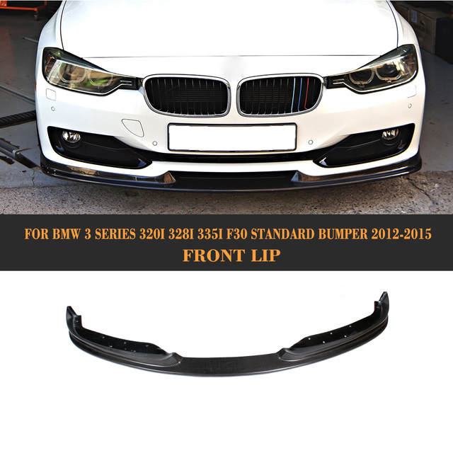 Front Spoiler Lip For BMW F30 Standard Only 2012 2013 2014