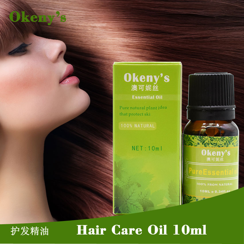 Okeny's Moroccan Pure Argan Oil Hair Care 10ml Laikou Hair Oil Treatment for Damaged Hair Care Product Deep Repair Moisturizing