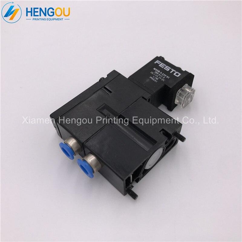 2 Pieces New M2.184.1121/05 Hengoucn MEBH-4/2-QS-6-SA SM102 CD102 Printing Machine Parts M2.184.11212 Pieces New M2.184.1121/05 Hengoucn MEBH-4/2-QS-6-SA SM102 CD102 Printing Machine Parts M2.184.1121