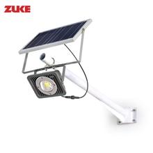 10W Solar Panel Powered Street Light Outdoor Super Bright 8w Led Floodlight Garden Lamp for Backyard Park Road Nightlights