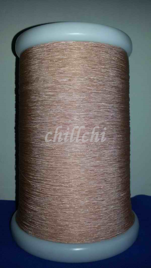 Making 0.07X3 shares high frequency line multi strand wire wire USTC litz wire enameled wire