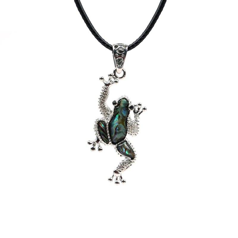 Frog Pendants Necklace (3)