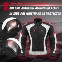 NERVE Motorcycle jacket protection pad Motorcross mesh summer suit riding jacket pants protective combinations CE Motorbike sets