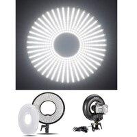 К 7000 светодио дный К 3000 k регулируемая светодиодная кольцевая лампа для фото/видео флуоресцентная вспышка светодио дный светодиодная кольц