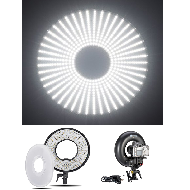 3000K-7000K Adjustable LED Ring Light Camera Photo/Video Fluorescent Flash Light LED Ring Ligthing Photo Studio недорого