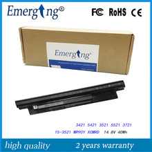 4Cells 14.8V 40Wh New Original Laptop Battery for Dell Inspiron XCMRD 14 3421 14R-5421 5421 3521 5521 3721 15-3521 3421 series