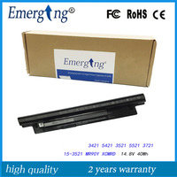 4Cells 14.8V 40Wh New Original Laptop Battery for Dell Inspiron XCMRD 14 3421 14R 5421 5421 3521 5521 3721 15 3521 3421 series