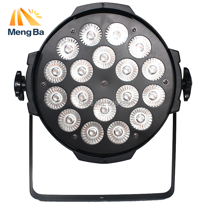 2pcs LED Par 18x18W RGBWA+UV DMX Stage Lights High Power Light for Party KTV Disco DJ weddingchristmas decorations for home free shipping dj par cans rgbwa uv 6in1 18x18w led par light aluminum alloy shell par led disco dmx stage effect lights