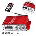 RCA Rot LP MA120 Verstärker Digital MP3/USB/SD LED Car Audio Lautsprecher Stereo Verbindung Amp Radio Hallo fi 12 V Mini Fernbedienung-in Stereo-Verstärker aus Kraftfahrzeuge und Motorräder bei