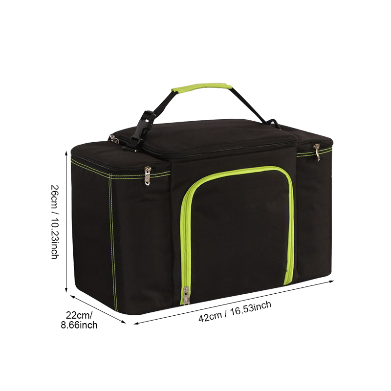 Big-Capacity-Cooler-Bag-Black-Cold-Thermal-Picnic-Lunch-Tote-Pouch-Student-Portable-Milk-Food-Insulation