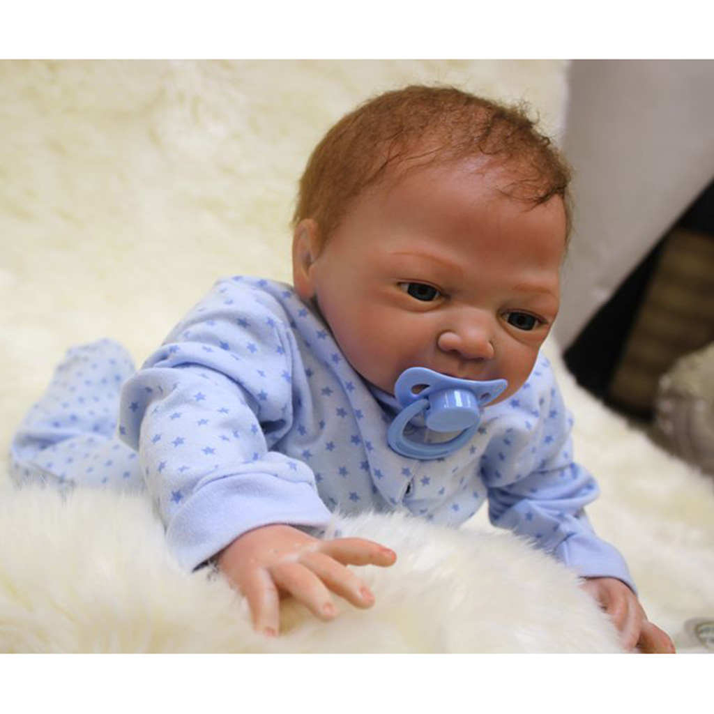 """Newborn Doll Kit painted kits with rooting hair for DIY 20/""""-22/"""" Reborn Dolls"""