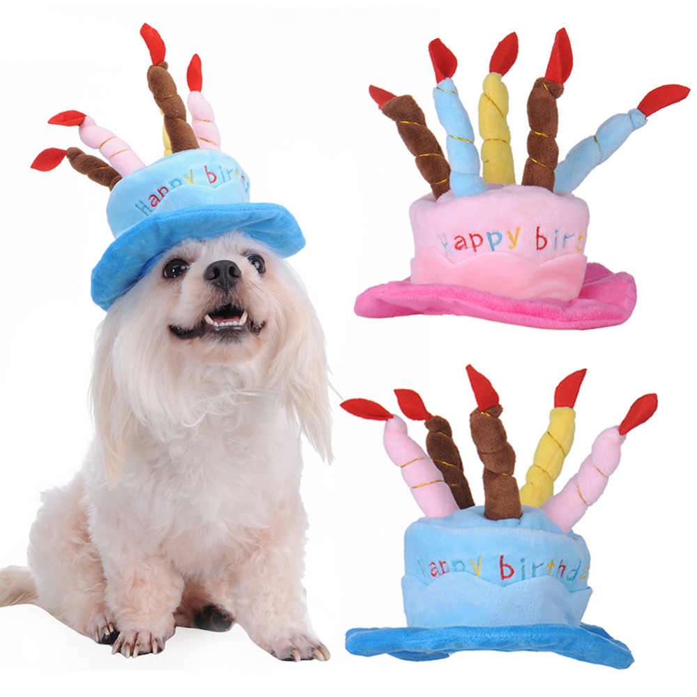 Dog Party Hat Pet Birthday Hat Orange Red White MINI Mini Birthday Hat for Puppy Party Pet Puppy Cat Kitten Pig Birthday Party Hat