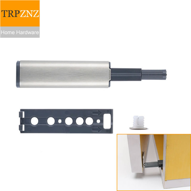 Closet Door Stoperrebounder Cupboard Door Push Type Spring Lock