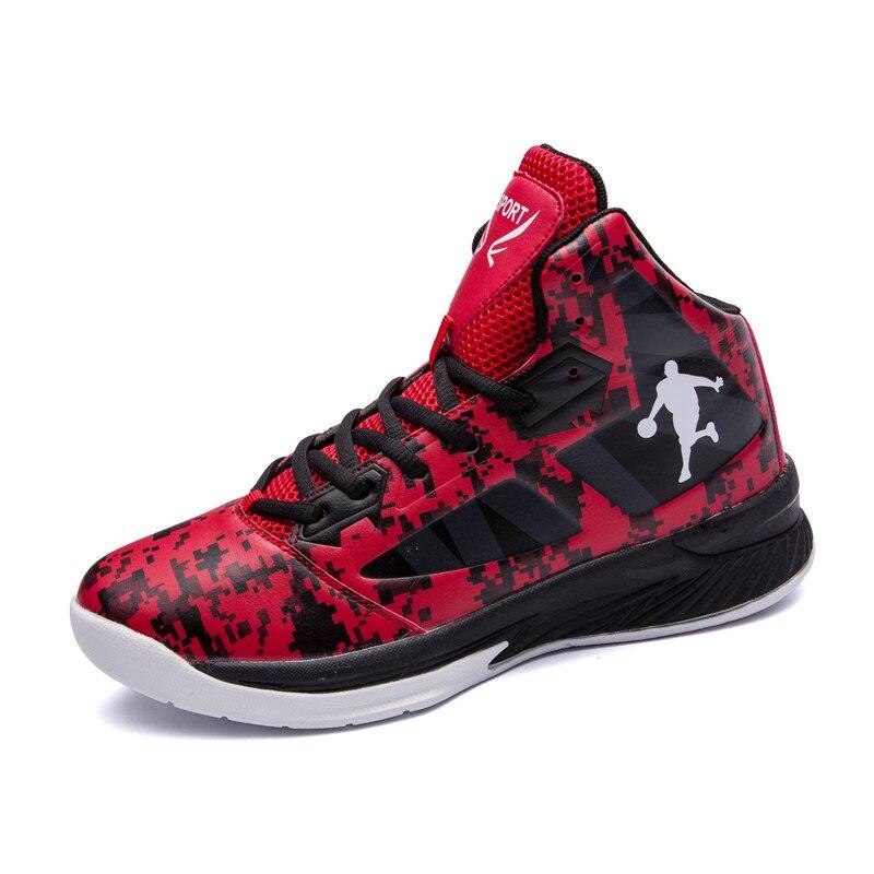 Chaussures de basket-ball haut de gamme hommes amorti respirant basket-ball baskets anti-dérapant athlétique plein air homme Sports Jordan chaussures