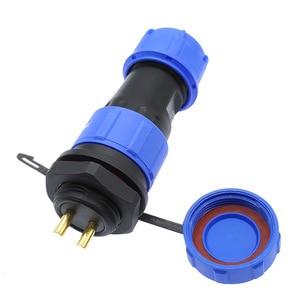 SP2110 SP2112 водонепроницаемый разъем, задняя гайка SP21 2pin 3pin 4pin 5pin 7pin 9pin 12 pin IP68 разъемы plug and socket