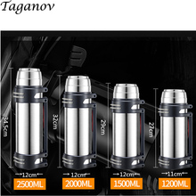 304 Stainless Steel Thermos Flask Large Capacity Mountain Climbing Tour Thermal Insulation Water Bottle Outdoor Travel Cup gifts electric thermos water bottle home insulation full stainless steel capacity