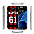 Exo Chanyeol Hard Transparent Clear Case Cover for Samsung Galaxy S7 S6 Edge Plus